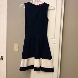 Navy Saks Fifth Avenue Dress. New with tag!